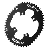 110 BCD  Single Outer Chainring Fits: Shimano 4 arm 6800 and 9000